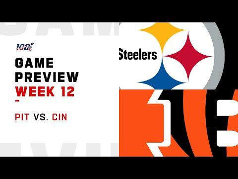 Pittsburgh Steelers vs Cincinnati Bengals Week 12 NFL Game Preview