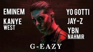 G-Eazy - 1942 Remix ft. Eminem, Jay-Z, Kanye West, Yo Gotti, YBN Nahmir [Nitin Randhawa remix]