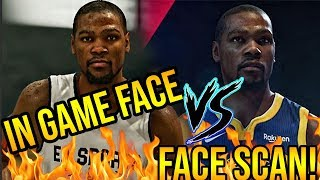 NBA LIVE 19 IN GAME FACE VS NBA LIVE 19 Player Rating Face Scan GRAPHICAL COMPARISON!!