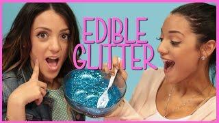 NikiAndGabiBeauty Edible Glitter?! | Niki and Gabi DIY or Di-Don't
