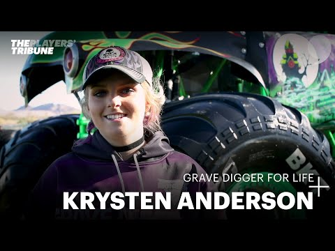 Meet Grave Digger's First Female Driver — Krysten Anderson
