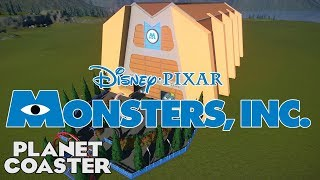 MONSTERS INC! Movie Coaster! Expert Entry 12 #PlanetCoaster