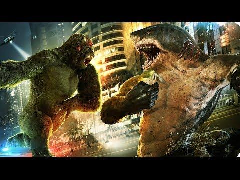 The Flash 5x15 King Shark vs Gorilla Grodd