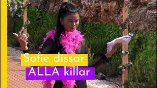 """""""Du är Lösare än Alla Tror"""" - Sofie Dissar Killarna I Love Island Sverige 2018 (TV4 Play)"""