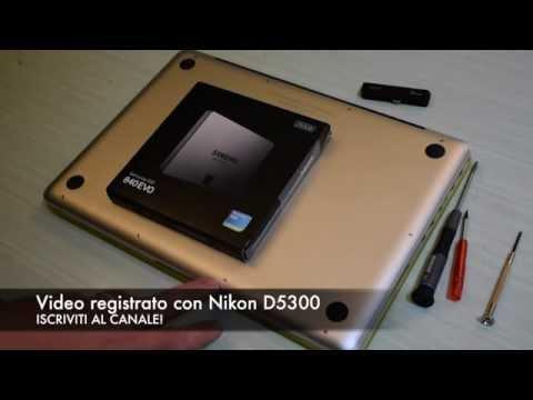 Guida Montaggio SSD Mac ed installazione OS