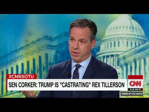 Tillerson responds to Corker's 'castration' remark