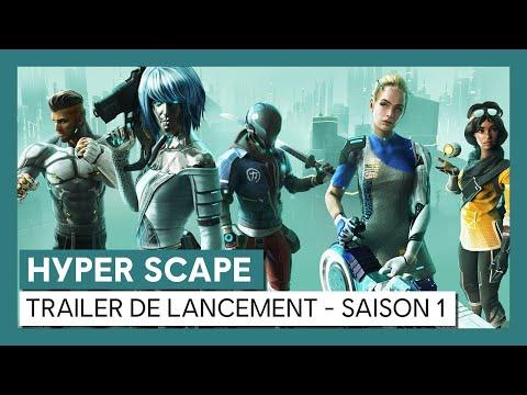 HYPER SCAPE - Trailer de lancement de la Saison 1 [OFFICIEL] VOSTFR de Hyper Scape
