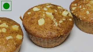Eggless Banana Muffins | Quick And Easy To Make Muffin Recipe | Kanaks Kitchen