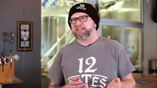 Head brewer of 12 Gates Brewery