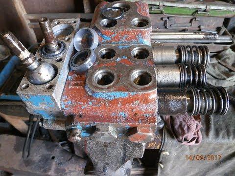 распределитель Р- 80 установка ремонтного комплекта