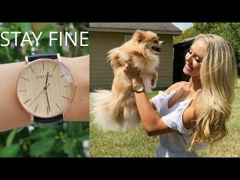 STAY FINE wood watch review