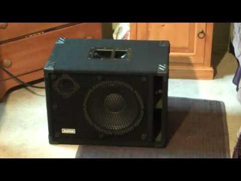 Avatar SB112 Neo Bass Cabinet Black | Reverb