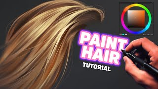 Paint Hair Like A Pro (Digital Painting)