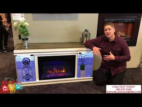 Napoleon Mantel Package Modern Fireplace Electric Review