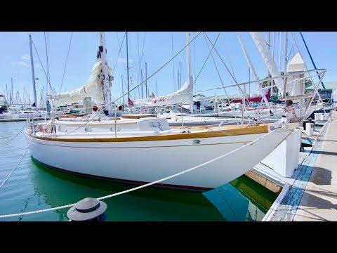 Hinckley 35 Pilot Sloopvideo