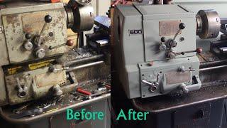 Lathe Restoration of a Colchester Student  Part1