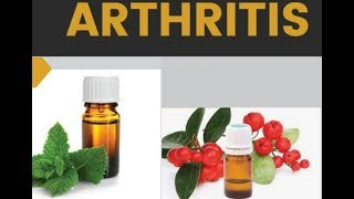 Best Essential Oils for Arthritis ..(INFOGRAPHIC)