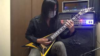 Children Of Bodom - Black Widow guitar cover