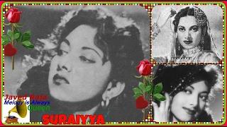 SURAIYA~Film-NATAK-[1947]-Apna Jinhein Banaya -[ Great