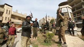 Turquía anunció la captura de la ciudad de Afrín que estaba en manos de fuerzas kurdas
