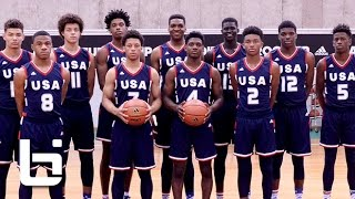 USA High Schoolers Battle NBA-Bound European Pros at adidas Eurocamp in Italy!