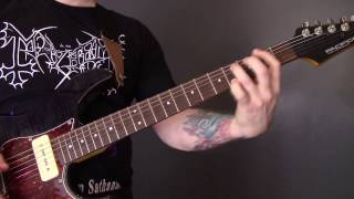 Bathory - Dies Irae Guitar Lesson (Riffs Only)