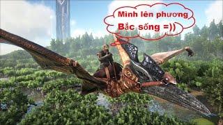 ARK: Survival Evolved #20 - Lên vùng núi phía Bắc, gặp Quái dị long Allosaurus