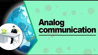 Analog Communication - Type of Signal for Communication