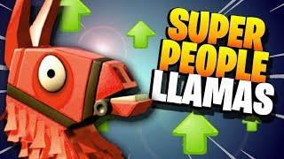 COMMON BUT AWESOME!!! | Super People Llama Opening Fortnite Save the World PvE