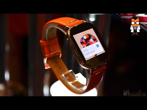 ASUS Zenwatch 2 Walk Through & Hands On