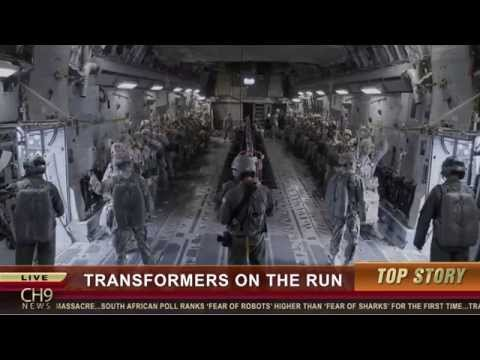 Transformers: Age of Extinction Viral Video 'News Alert'