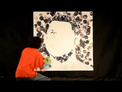 [Cực độc] Vẽ tranh cr7 bằng bóng