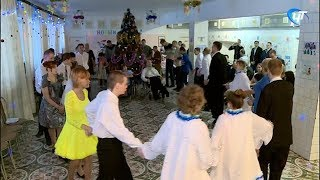 В доме-интернате имени Ушинского прошел Новогодний утренник