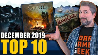 Top 10 Hottest Board Games: December 2019