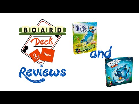 Board, Deck & Dice Reviews #87 & #88 - King Frog & Reef Route