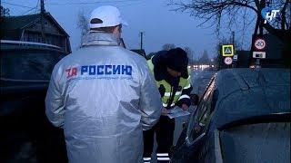 Сотрудники ГИБДД отправились в район Новой Мельницы с рейдом «Внимание, пешеход»