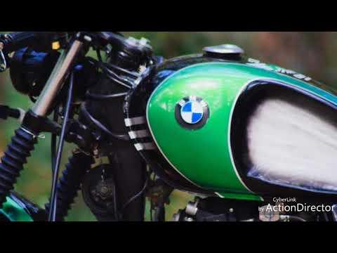 Cafe Racer Modified Bike Suzuki GS 150cc Bobber Custom Build SRK Custom Scrambler Pakwheel