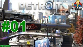DETROIT BECOME HUMAN - Gameplay ITA - Walkthrough #01 - Un mondo nuovo