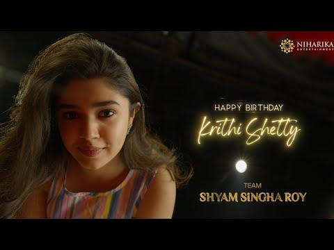 Team Shyam Singha Roy Wishes to Krithi Shetty