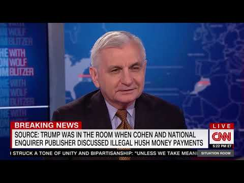 Reed on the Situation Room with Wolf Blitzer - Mueller, Cohen, Yemen, & Saudi Arabia