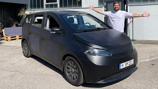 I Drive The Sono Sion Prototype - A Car That Can Be Powered By The Sun!