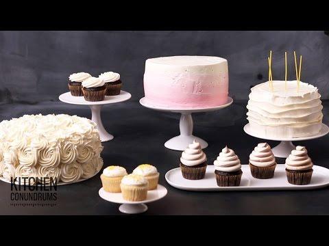 Video 5 Amazingly Simple Cake Decorating Ideas  - Kitchen Conundrums with Thomas Josheph