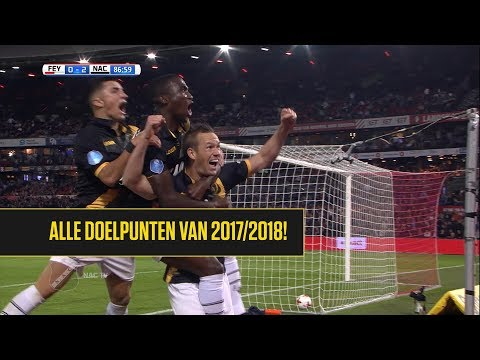 Alle goals van NAC in 2017/2018!