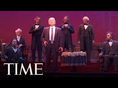 The Internet Can't Get Over How Much Disney's President Trump Robot Looks Like Jon Voight | TIME