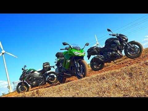 2014 Kawasaki Ninja 1000 vs Kawasaki Z1000 vs Kawasaki Z800