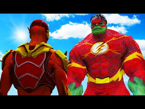 Download THE FLASH VS FLASH-HULK HD Mp4 3GP Video and MP3