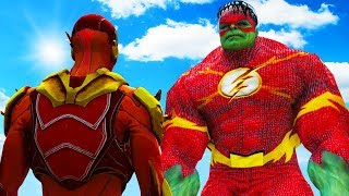 THE FLASH VS FLASH-HULK