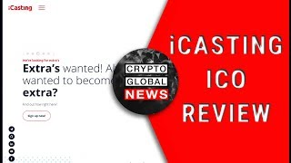 iCasting ICO review, TALENT BLOCKCHAIN!