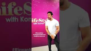 Meet Rizwan Noor tonight in #LifeStylewithKomal only on Aaj Entertainment