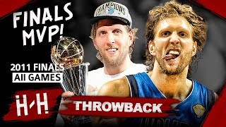 Throwback: Dirk Nowitzki Full Series Highlights vs Miami Heat (2011 NBA Finals) -  Finals MVP! HD